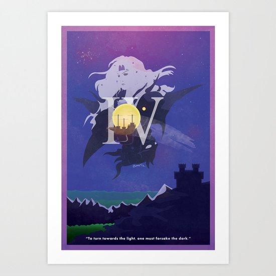 Vintage FF Poster IV Art Print