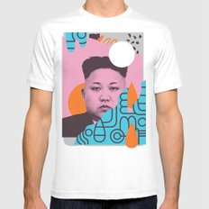 Kim Jong Fun! X-LARGE Mens Fitted Tee White