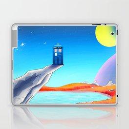 tardis space at starry night Laptop & iPad Skin
