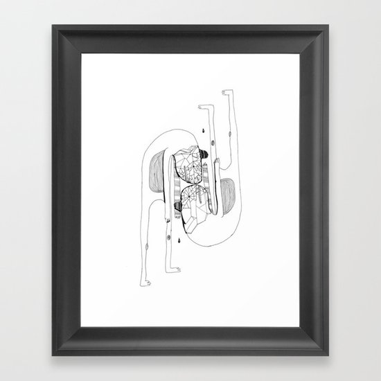Two's Company Framed Art Print