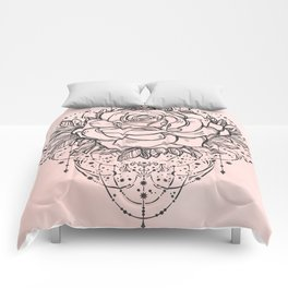 Night Rose Comforters