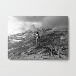 Awesome Nature Nude Hike Metal Print