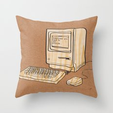 Sometimes you need to get outside Throw Pillow