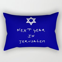 Next year in Jerusalem 7 Rectangular Pillow