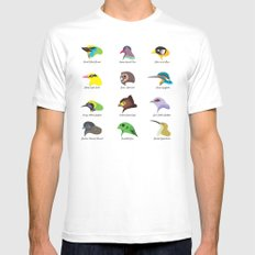 Montane Birds Series 2 White Mens Fitted Tee MEDIUM