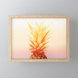 Pineapple#exposure#film#effect Framed Mini Art Print