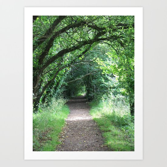 New Forest Tunnel Art Print