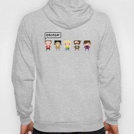 The Big Bang Theory Pixel Characters Hoody