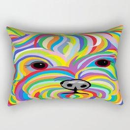 Yorkie Rectangular Pillow