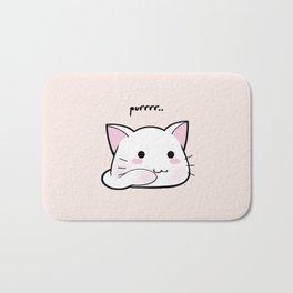 Purrring Kawaii Kitten MEOW! =(^_^)= Badematte