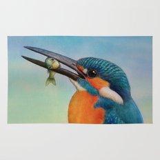 Common Kingfisher Rug