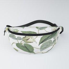 Botanical Leafy Bluebells Fanny Pack