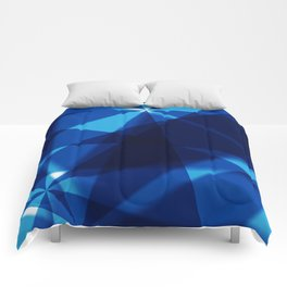 BLUE FOR YOU BLUE FOR ME Comforters