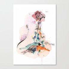 Diamond Mind Canvas Print