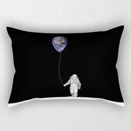 Global astronaut Rectangular Pillow