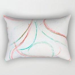PastelDoodle Rectangular Pillow