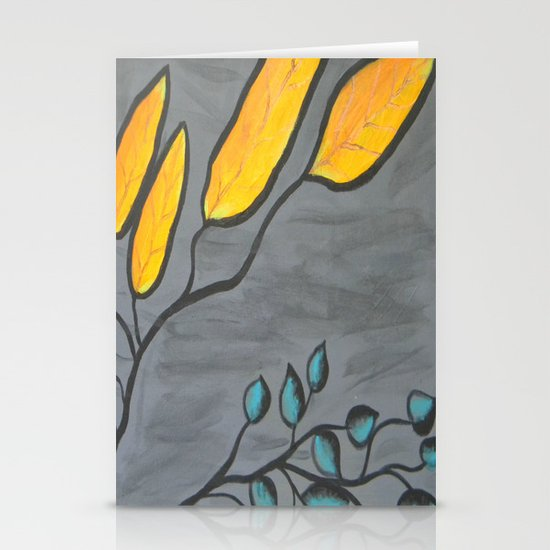 Leaves of Color Stationery Cards