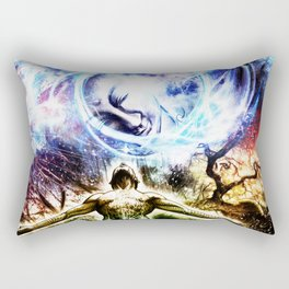 I am a Son of Earth and Starry Heaven Rectangular Pillow