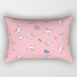 Sylveon Pink Print Rectangular Pillow