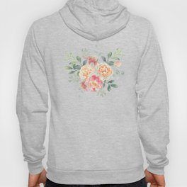 Pink roses bouquets Hoody