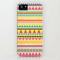 BRIGHT AZTEC Slim Case iPhone (5, 5s)