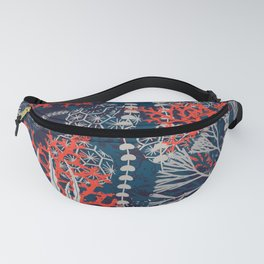 Corals and Starfish Fanny Pack