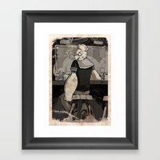 Bluto's Return Framed Art Print
