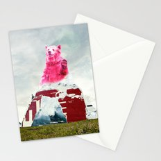 Bear Salute Stationery Cards
