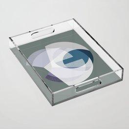 Radius I Acrylic Tray