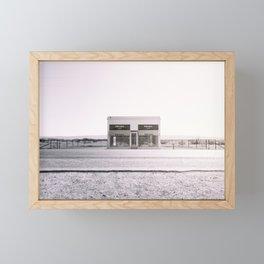 PradaMarfa - Black and White Version Framed Mini Art Print