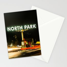 North Park (San Diego) Sign - SD Signs Series #1 Stationery Cards