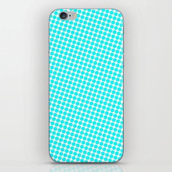 BLUE DOT iPhone & iPod Skin
