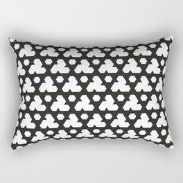 Trefoil Triweave Rectangular Pillow