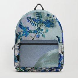 Super Moon v2 - Blue #buyart Backpack