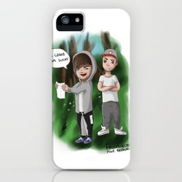 Lilo writing sessions iPhone Case