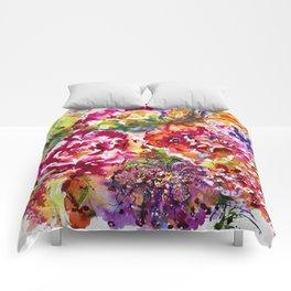 Watercolor Garden II Comforters