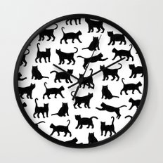 Le petits chats Wall Clock