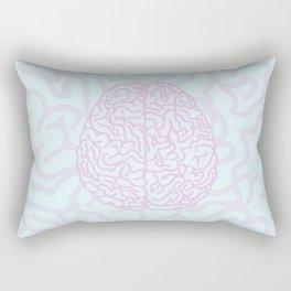 Pastel Brain Rectangular Pillow