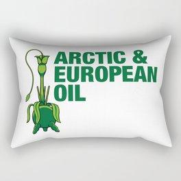 Arctic & European Oil Rectangular Pillow