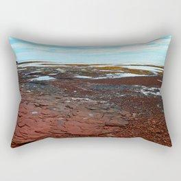 Point Prim Tidal Shelf and Coastline Rectangular Pillow
