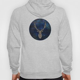 Geometric Space Elk Hoody