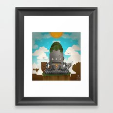 Shhhhh Framed Art Print