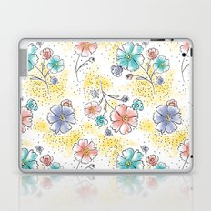 Brilliant Blooms Laptop & iPad Skin