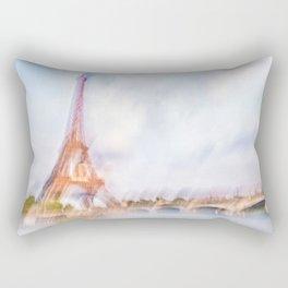 The Eiffel Tower 3 Rectangular Pillow