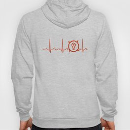 Electrical Engineer Heartbeat Hoody