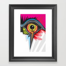 GLARE Framed Art Print