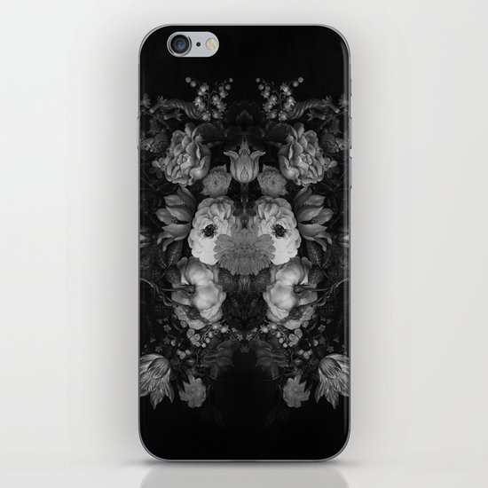 Botanical Darkness iPhone & iPod Skin