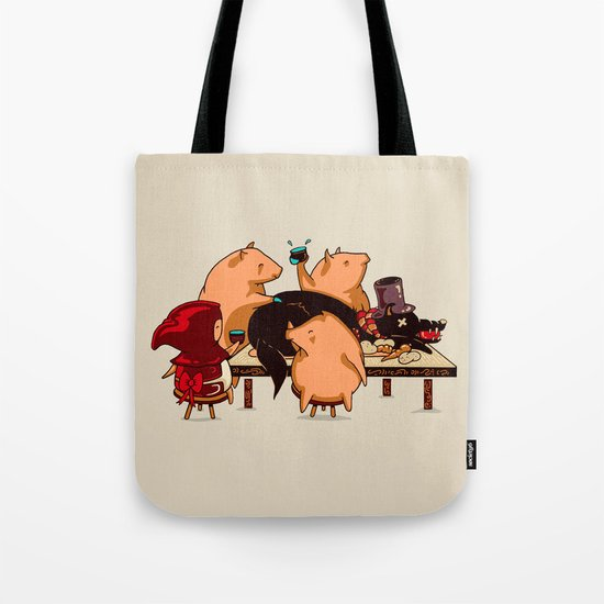 Dinner With Friends Tote Bag