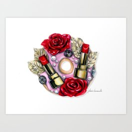 Dolce Couture Donut Art Print