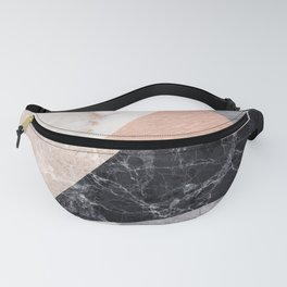 Marble geometry Fanny Pack